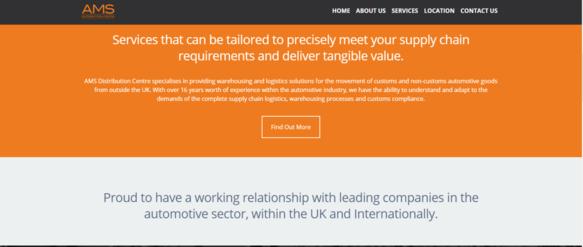 AMS DC Website Homepage
