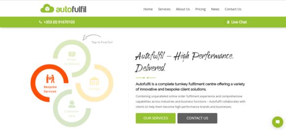 Autofulfil Homepage