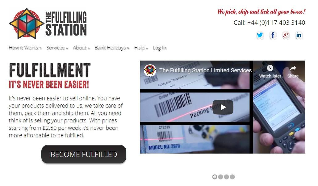 The Fulfilling Station Website Screenshot
