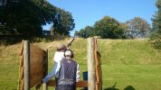 Charity clay pigeon shooting day run by ORJ Solicitors in Stafford