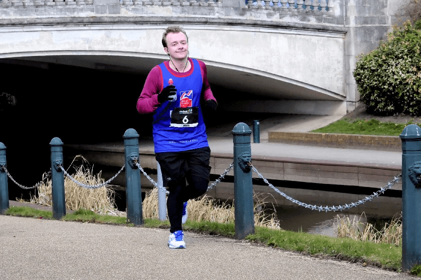 Optima employee Curtis running to raise money for charity