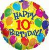 Happy 10th Birthday badge