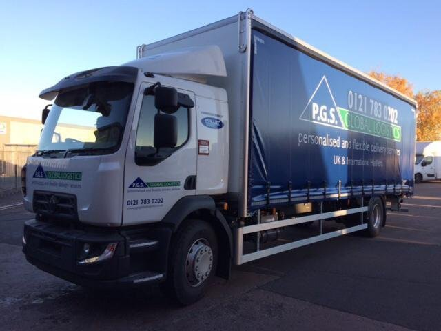 PGS Logistics Lorry