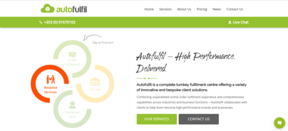 Autofulfil Homepage