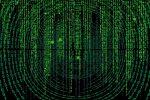 computer code showing matrix type font